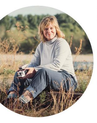 Tanja Deuß, Polaroidkünstlerin aus Düsseldorf.